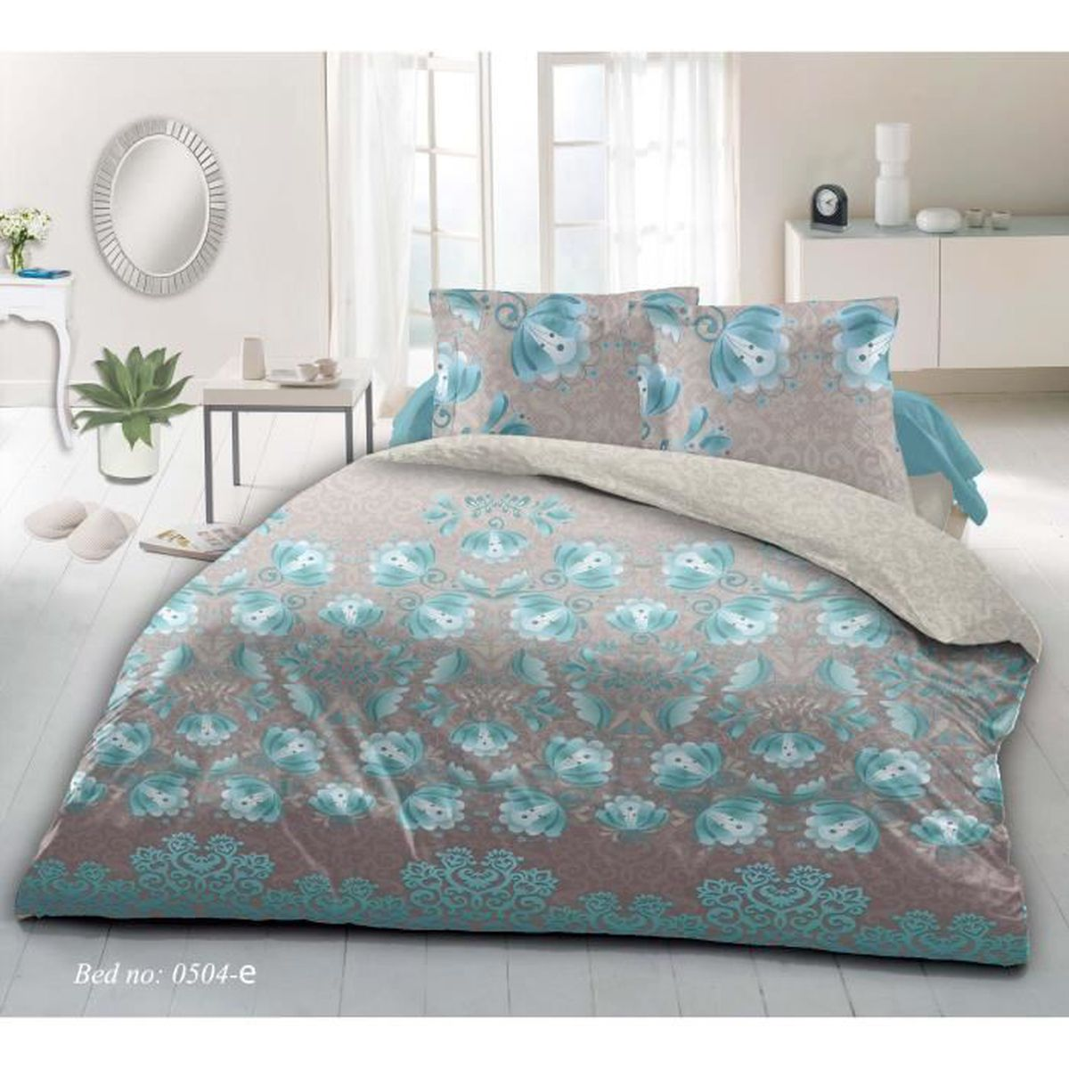 Housse couette turquoise 17 best images about douillette for Housse de couette turquoise