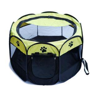 ENCLOS - CHENIL Enclos Portable pliant Tissu Pet Jouer Pen Puppy D