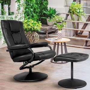 FAUTEUIL COSTWAY Fauteuil Relax Inclinable 150° Fauteuil de