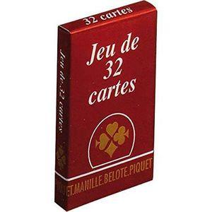 CARTES DE JEU Jeu de cartes - Jeu de 32 cartes gauloise