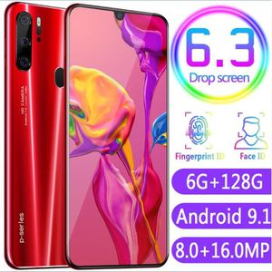 SMARTPHONE P35 6.3 Pouce 6GB + 128GB Android 9.1Mondiale Smar