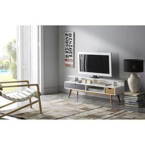 MEUBLE TV MURAL gamme living - meuble tv mural complet inedit Meub