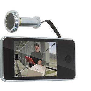 JUDAS - ŒIL DE PORTE Camera de porte et écran LCD 8,1 pouce 14mm de dia