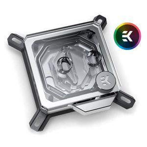 VENTILATION  EK Water Blocks EK-Velocity Intel RGB - Nickel + P
