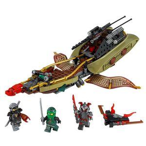 ASSEMBLAGE CONSTRUCTION LEGO Ombre de 70623 de Ninjago Destin ORWTL