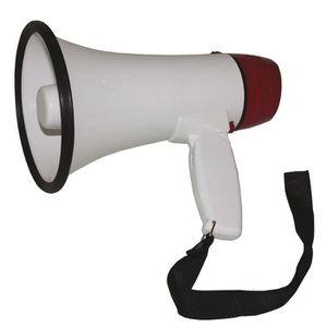 Mégaphone IBIZA MEGA20W Mégaphone 20W blanc et rouge