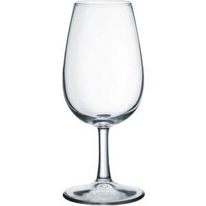 Verre à vin LOT 6 VERRES VIN 22CL TRANSPARENT TYPE INAO