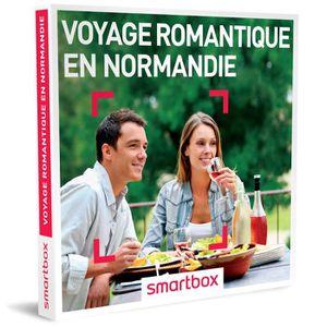 COFFRET SÉJOUR Coffret cadeau - Voyage romantique en Normandie -