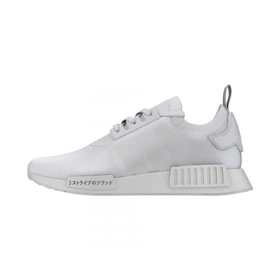 Basket ADIDAS NMD R1 PK Age ADULTE, Couleur GRIS, Genre HOMME, Taille 46 2 3