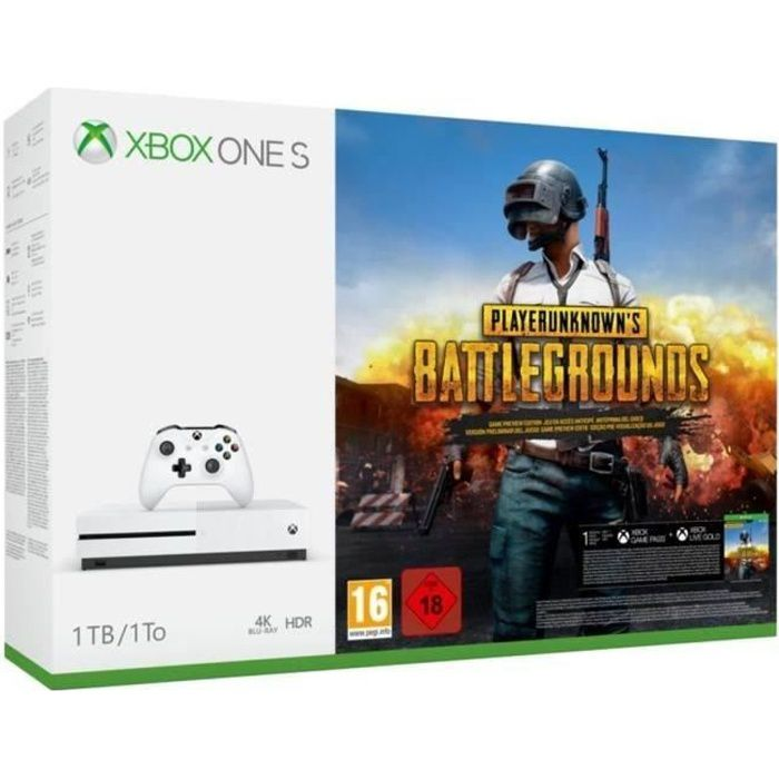 Xbox One S 1 To PLAYERUNKNOWN'S BATTLEGROUNDS