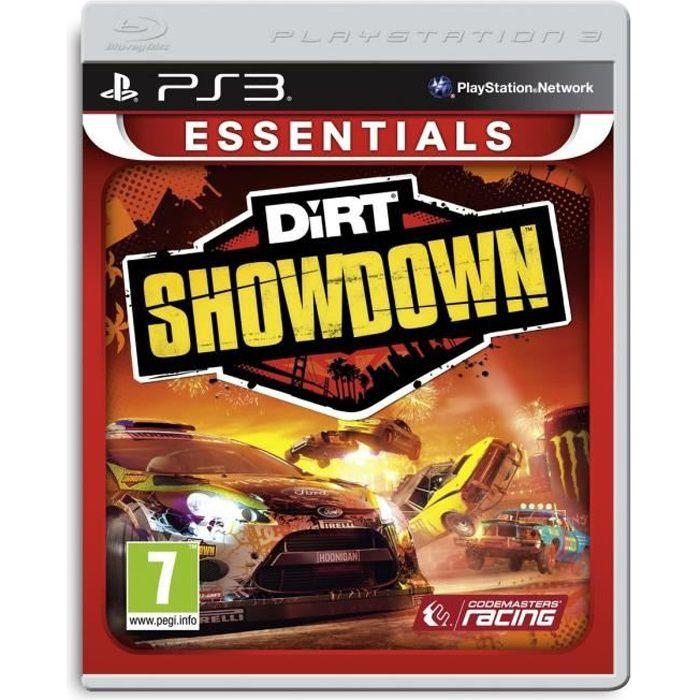 Dirt Showdown Essentials Jeu PS3