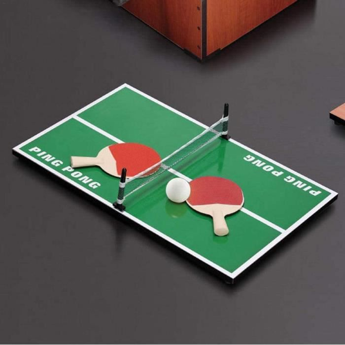 Schildeng Mini Ping-Pong Enfants De Tennis De Table Jouets &Eacuteducatifs pour Enfants en Bois[192]