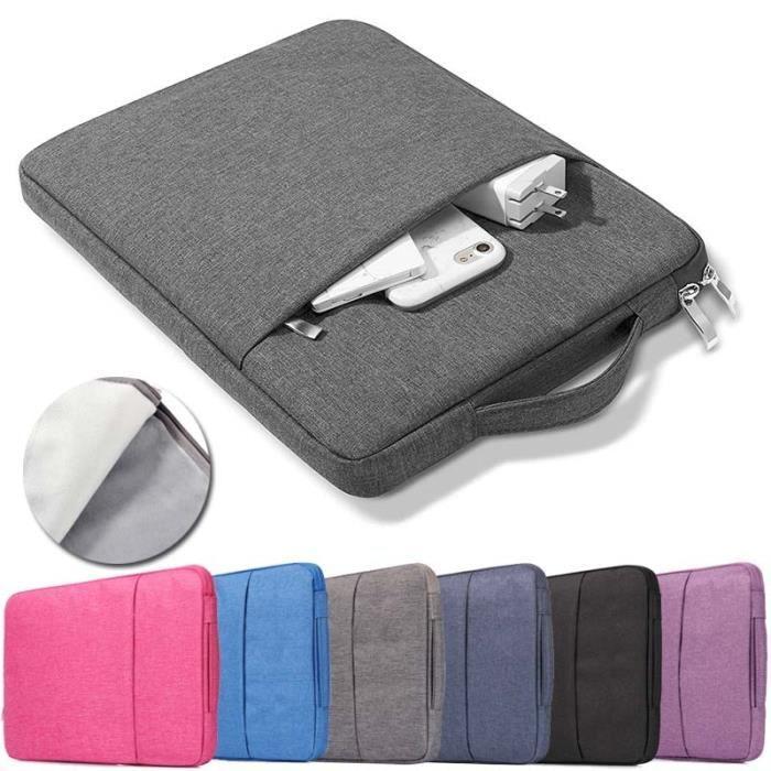 KK & LL universel porter Nylon fermeture éclair pochette pour ordinateur portable pochette sac pour 10 &qu*PL25784