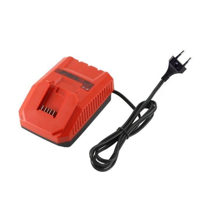 HIlti 2076996 Chargeur de batterie C4-12-50 115V sans fil pour batterie B12-2.6 rouge JST1270