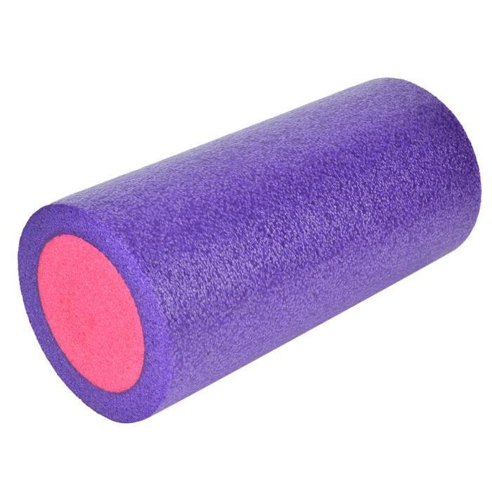 VGEBY Rouleau de mousse EPE Yoga Mousse Rouleau Muscle Soulager Massage Colonne Exercice Fournitures 45 cm / 17.7in (Extérieur