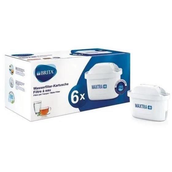 BRITA Pack de 6 cartouches MAXTRA+ pour carafes filtrantes