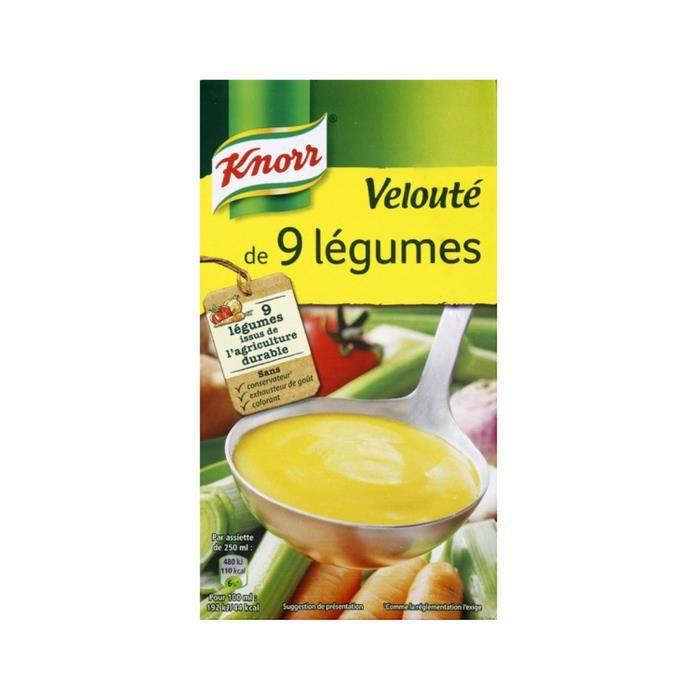 Velouté 9 légumes 50 cl Knorr