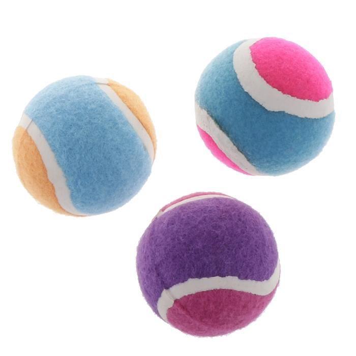 BALLE DE TENNIS 3 balles de sport collantes