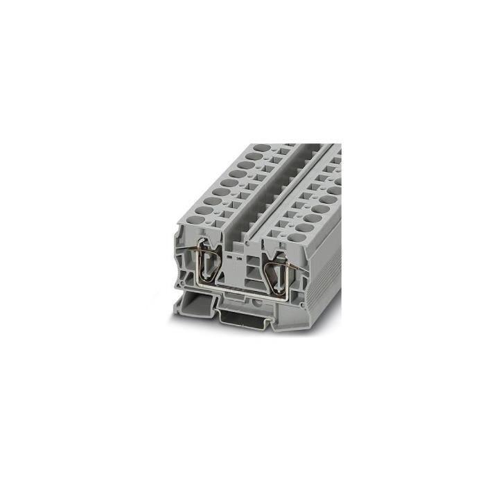 Bloc de jonction simple gris Contenu: 50 pc(s) Phoenix Contact ST 16 3036149
