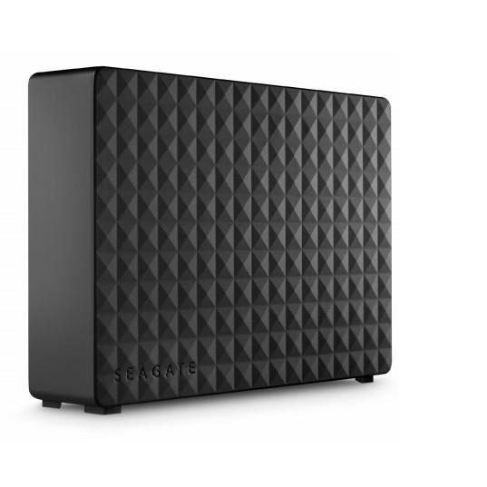 Seagate Expansion Expansion Desktop 3TB, 3000 Go, 3.5-, USB Type-A, 3.0 (3.1 Gen 1), 5000 Mbit-s, Noir