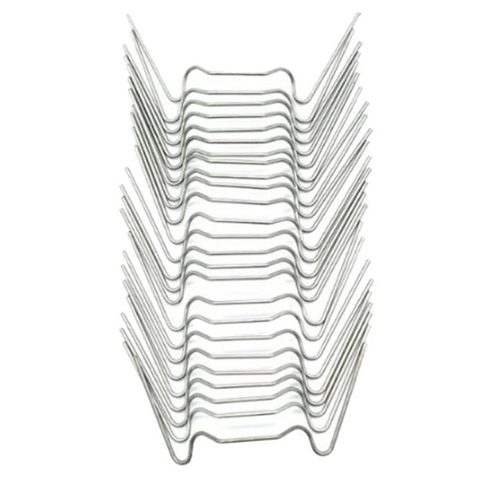 Clips De Vitrage De 75 Pièces En Acier Inoxydable Pour Serre Universelle En Aluminium