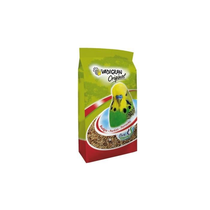 VADIGRAN Mélange de graines pour perruche ORIGINAL 1kg