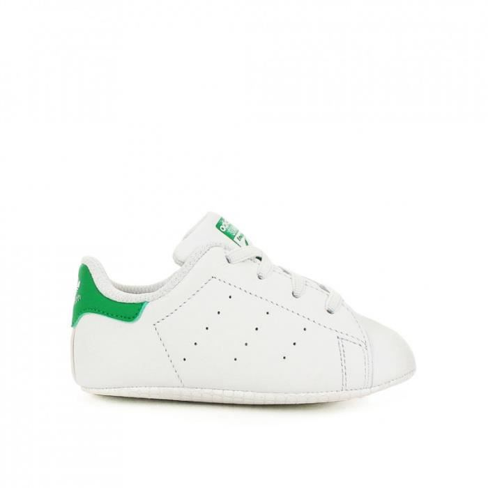 Chaussures à lacets Adidas Stan Smith blanches Casual fille PvJs9cu