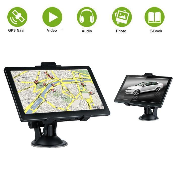 GPS AUTO 7'' GPS Voiture à Écran tactile 800*480 Navigation