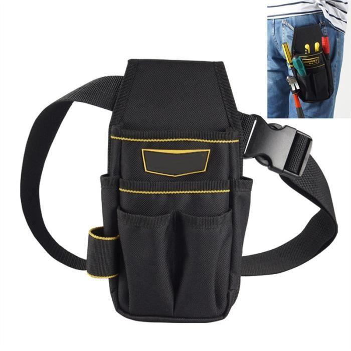 Petit Outil Sac épaule toile Kit Réparation Sac ceinture pour outils Boîte à outils de réparation