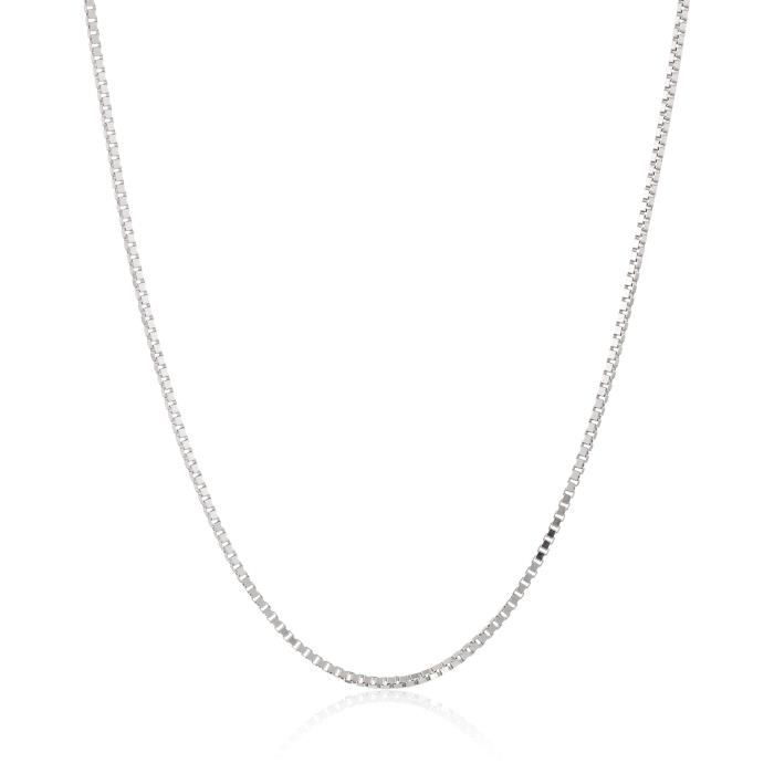 14k Gold Box Chain Necklace (.8 Mm) AGDSG