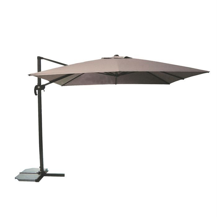 parasol excentr de luxe alcea cru dream garden achat. Black Bedroom Furniture Sets. Home Design Ideas