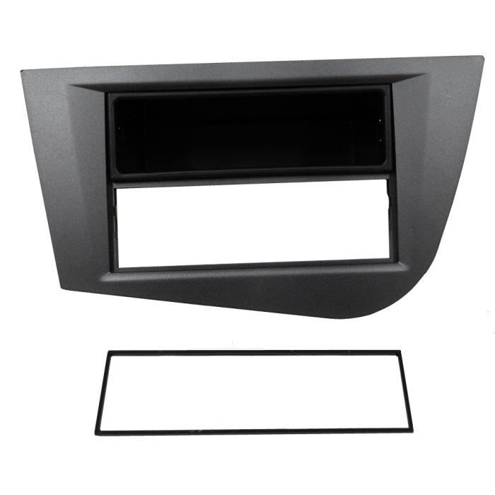 fa ade cadre r ducteur autoradio pour seat leon 2 achat vente installation autoradio fa ade. Black Bedroom Furniture Sets. Home Design Ideas