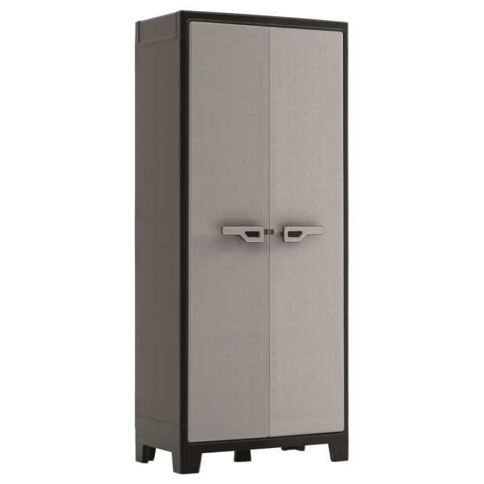 armoire de rangement titan anthracite achat vente coffre d 39 ext rieur armoire de rangement. Black Bedroom Furniture Sets. Home Design Ideas