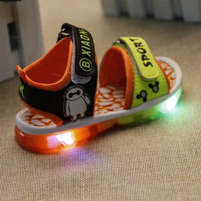 Chaussures Nm80wnv Led Enf S'allume Nouvelle ED9YH2WeI