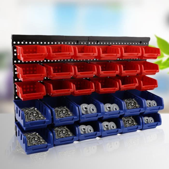 Rangement Outil Boite En Plastique Garage Atelier Organise Outil 32pcs Achat Vente Bac De Rangement Outils Rangement Outil Boite En Cdiscount
