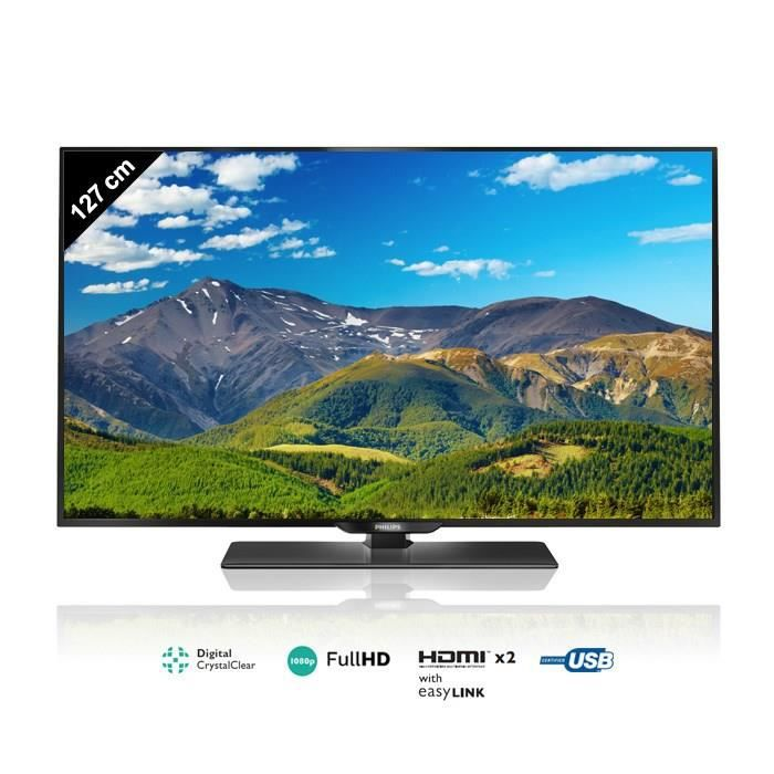 philips 50pfh4309 tv full hd led 127 cm t l viseur led. Black Bedroom Furniture Sets. Home Design Ideas