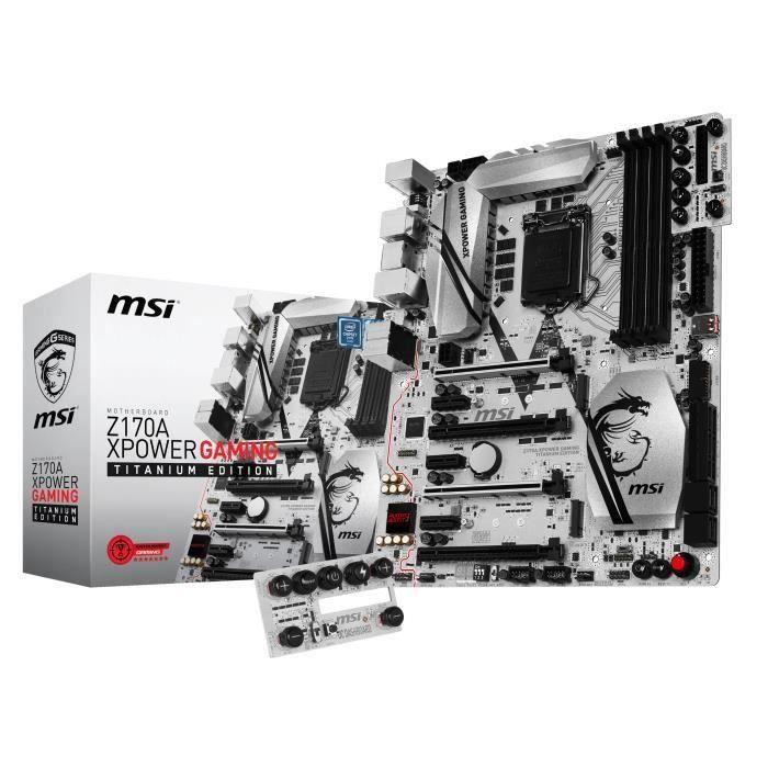 Msi carte mère Z170a Xpower Gaming Titanium Editio