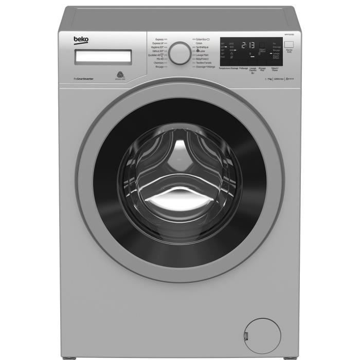 BEKO WMY712230S - Lave linge frontal - 7kg - 1200 tours / min - A+++ - moteur induction