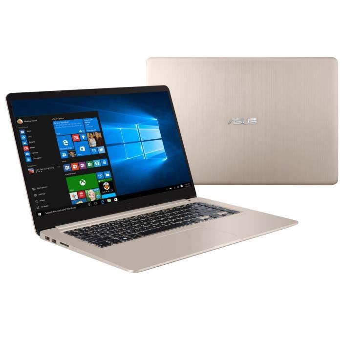 Asus pc portable vivobook s510un bq030tt 156 8go ram windows 10 intel core i7 geforce mx150 disque dur 1to 128go ssd
