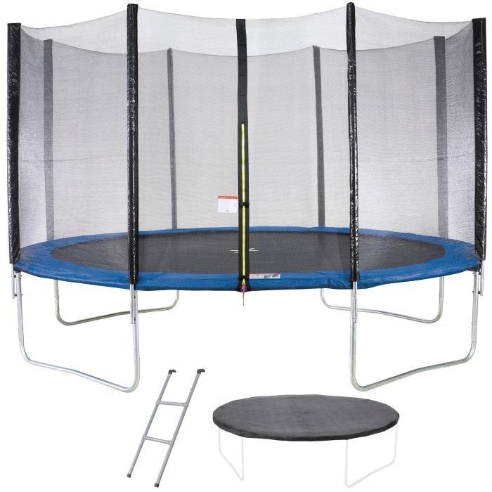 Housse de Protection des perches JUMP4FUN Accessoires Universel Trampoline ext/érieur Trampoline de Jardin Toutes Tailles Anti UV