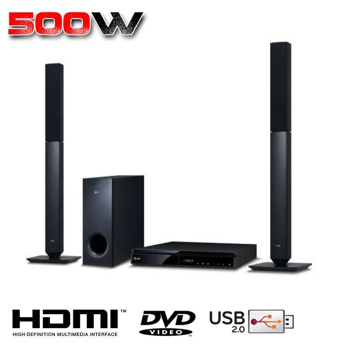 lg dh6530d home cin ma 2 1 dvd hdmi achat vente. Black Bedroom Furniture Sets. Home Design Ideas