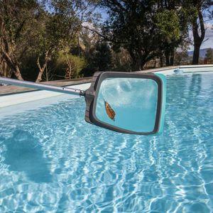 ENTRETIEN MANUEL  SPOOL Épuisette piscine de surface luxe avec racle