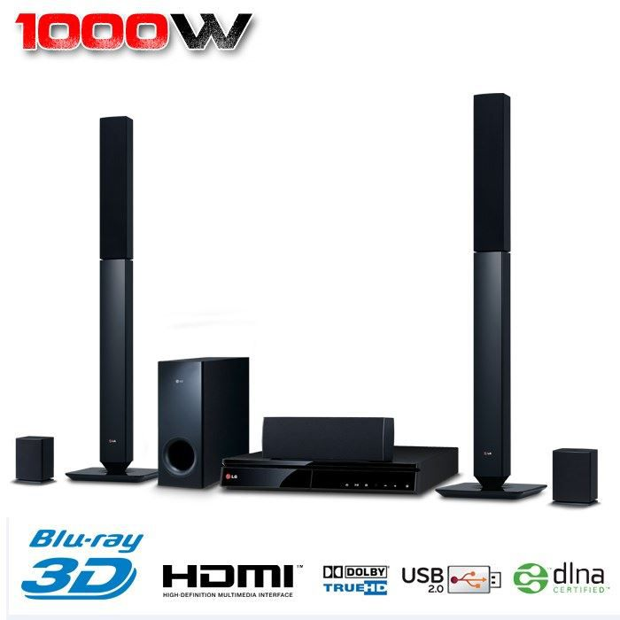 lg bh6430p home cin ma 5 1 blu ray 3d 1000w achat. Black Bedroom Furniture Sets. Home Design Ideas