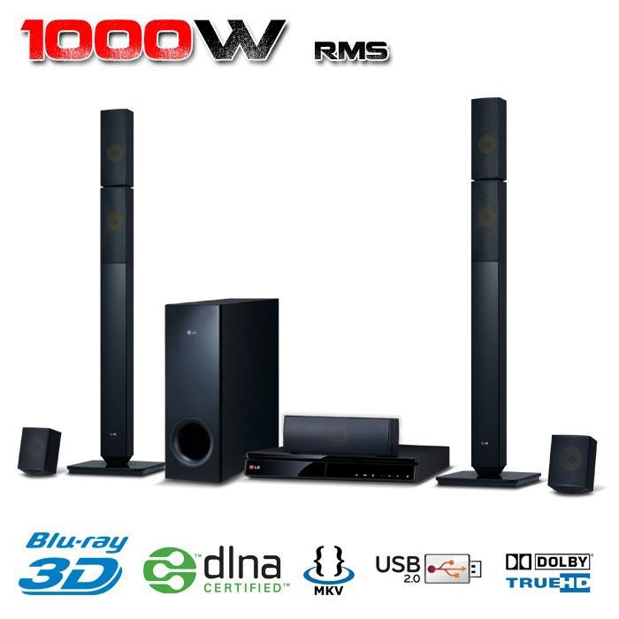 lg bh6730p home cin ma 5 1 blu ray 3d 1000w achat. Black Bedroom Furniture Sets. Home Design Ideas