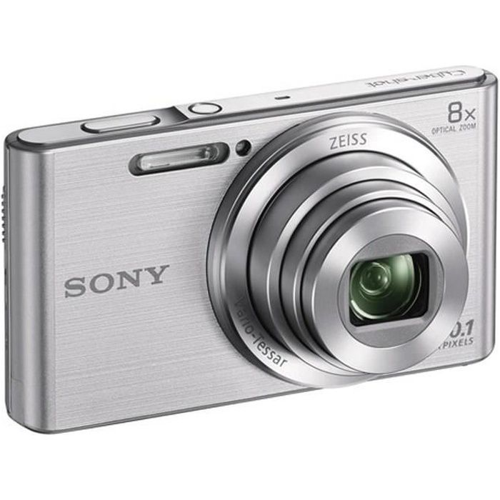 APPAREIL PHOTO COMPACT SONY DSC-W830 gris - CCD 20 MP Zoom 8x Appareil ph