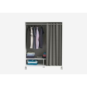 AMENAGEMENT DRESSING MANA Kit dressing sous comble contemporain blanc p