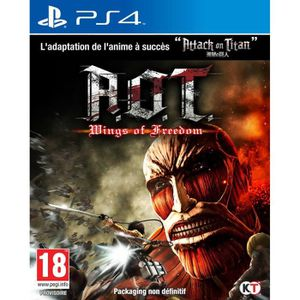 JEU PS4 Attack On Titan :  Wings of Freedom Jeu PS4