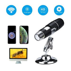 MICROSCOPE OPTIQUE AOLVO Wifi HD Microscope numérique Multifonctionne