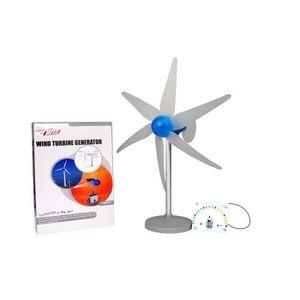 Mini éoliennes Générateur hydraulique Générateur Affichage DEL jouet projet À faire soi-même Kit