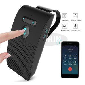 KIT BLUETOOTH TÉLÉPHONE Kit Voiture Mains libres Bluetooth pour pare-solei